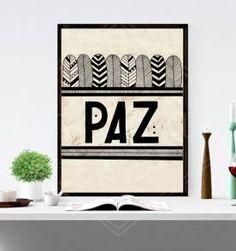 poster paz - 30x40cm