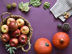 4 tipy, jak si naplno užít podzim Free Pictures, Free Images, Fall Season, Risotto, Pumpkin, Apple, Seasons, Fruit, Vegetables