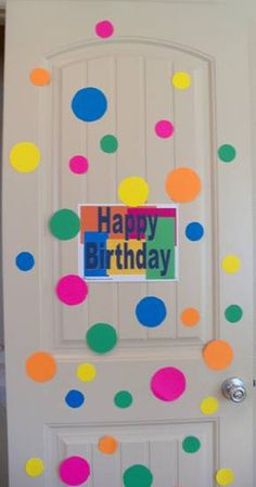 Festive Party Ideas Decorating Doors Office Birthday Decorations Dorm Pranks