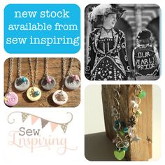 Just bobbing over to Newport Pagnell to restock my little crate Sew Inspiring.  This is a small selection of new items that will be available from this afternoon.  #jewellery #jewelry #silver #handmade #original #sewinspiring #newportpagnell   www.thebuttonprincess.co.uk