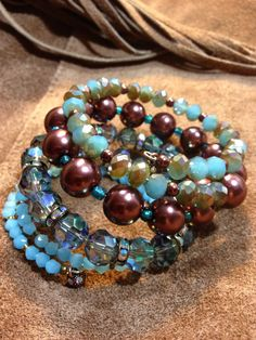Beautiful colors of turquoise & browns