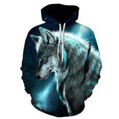 12 Best hoodies animals images | Hoodies, Wolf hoodie