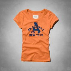 USD$20 Abercrombie & Fitch A&F AF Womens Short Sleeve Tshirts, Fashion Tees On Replica Shop
