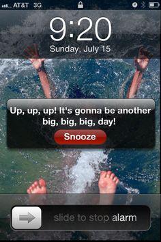 Effie Trinket Alarm