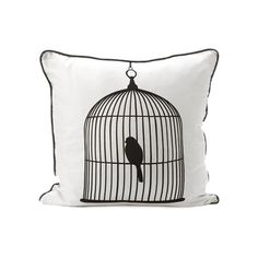 I pinned this Birdcage Silk Pillow from the AllModern event at Joss and Main!