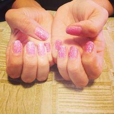 Shellac glitter pink ❤️