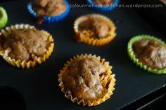 Prune banana muffins