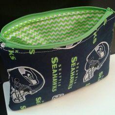 Seahawks Cosmetic Bag