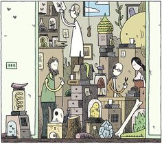 Store room by Tom Gauld.
