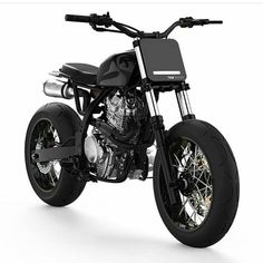 This sure looks like a fun Honda to rip up the supermoto track on ———————————————- Photo by ———————————————- Honda Dominator, Honda Scrambler, Cafe Racer Motorcycle, Motorcycle Design, Bike Design, Motos Honda, Honda Cb750, Bobber Custom, Custom Motorcycles