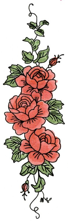 http://shop.sweetstamps.com/Vertical-Rose-Border-7018-7018E.htm
