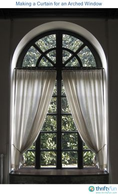 This is a guide about making a curtain for an arched window. Making a curtain for an arched window is not as difficult as it may seem.