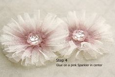 Such a Pretty Mess: Ballerina Bloom Tutorial ~ Using Webster's Pages Trims & Sparklers