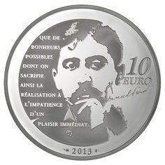 Französische Silbermünze mit interessantem Motiv!