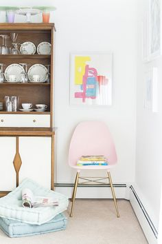 DIY Inspiration: Mid-Century Shell Chair Updates & Upgrades