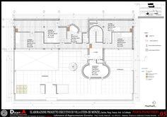 Elaboration project villa Stein de Monzie Le Corbusier, Garches, Francesco Andreozzi
