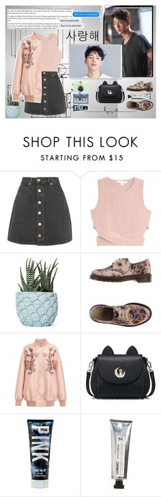 """""""Rendez-Vous with Ji Soo (With song in description)"""" by betulkizilirmaak on Polyvore featuring Glamorous, Jonathan Simkhai, Chen Chen & Kai Williams, Dr. Martens, STELLA McCARTNEY, F, L:A Bruket, Bomedo and White Label"""