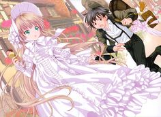victorique /I think she like to wear lolita dress she so cute # Gosick… Fanart, Anime Love, Gosick Victorique, Chibi, Splash Page, High Resolution Wallpapers, Great Love Stories, Manga Pages, Anime Kawaii