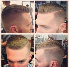 Men's hair Carl look @ this