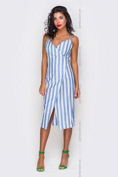 Платье женское. Платья. Цвет: синий. #4031192