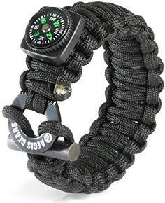 Tactical Paracord Bracelet X Series By AEGIS GEARS - Ulti...
