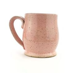 Strawberry Speckled Mug, Medium Pottery Gifts, Pottery Mugs, Ceramic Mugs, Stoneware, Different Kinds Of Coffee, Drinking Black Coffee, Sister In Law Gifts, Pottery Supplies, Pottery Videos