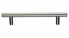 """Top Knobs - M430 - Hopewell Bar Pull 5 1/16"""" (c-c) - Brushed Satin Nickel - Bar Pulls Collection"""