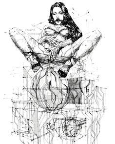 Yury Fadeev art project  Art of Distress Bondage Fetish Fashion Art Illustration  Ink Art  Passion & Tansion. A2 ink on paper.  #ornament #art #drawing #inprogress #wip #emotions #couple #geometry #gagged #ballgagged #girls #portrait #modern #contemporary #sketch #illustration #vscocam #vsco #vscogrid #ink #inkart #lineart #concept #design #style #рисунок #иллюстрация #графика #love #passion