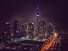 CN Tower in Toronto, Ontario, Canada ~Elixir Rain