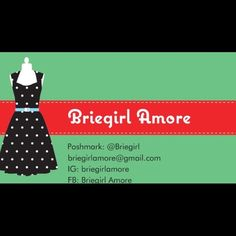 10% off bundles!! Teacher by day, posher by night!!! My baby is my poochon, Brie, to whom I have blessed with my username!. Make sure to visit my IG: briegirlamore and on FB: briegirl amore and my FB open group Briegirl's Boutique. Other