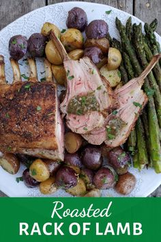 Sunday supper, a special day, or even impressing guests, no matter what the occasion, this simple roasted rack of lamb will be an affair to remember. Easter Dinner Recipes, Best Dinner Recipes, Amazing Recipes, Lamb Recipes, Meat Recipes, Vegetarian Recipes, Pinterest Food, Pinterest Recipes, Roast Rack Of Lamb