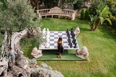 Chess board at Château de la Chèvre d'Or, Eze, France @lachevredor @atoutfranceuk | Bold Bliss