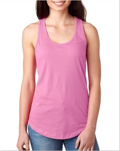 Next Level 1533 The Ideal Racerback Tank