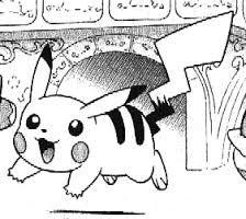 À sept heures pikachu se leve.
