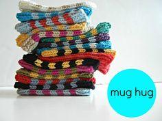 Ravelry: mug hug - free pattern by Rebecca Gunderson