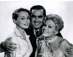 Victoria Shaw, Tyrone Power, Kim Novak - The Eddy Duchin Story