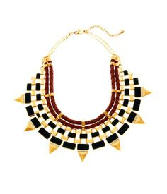 This is absolutely everything. Voyager Statement Necklace | New Arrivals | Henri Bendel