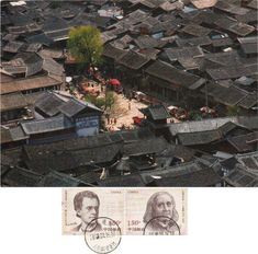 """Swap (2018/166) - Arrived: 2018.05.22 --- Old Town of Lijiang  is the historical center of Lijiang City, in Yunnan, China. It is a UNESCO World Heritage Site. The town has a history going back more than 1,000 years and was once a confluence for trade along the """"Old Tea Horse Caravan Trail"""". The Dayan Old town is famous for its orderly system of waterways and bridges, a system fast becoming but a memory as the underground water table drops, probably due to over-building in the suburban areas."""