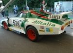 The stunning Alitalia livery made a return in My Dream Car, Dream Cars, Classic European Cars, Rally Car, Car Drawings, Vintage Racing, Old Cars, Fiat, Cars And Motorcycles