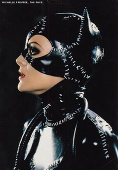 Michelle Pfeiffer as Selina Kyle/Cat-Woman in Batman Returns (1992) - best catwoman ever!