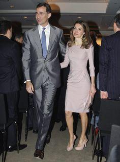 Los príncipes de Asturias inician en Nueva York su visita oficial a Estados Unidos #letizia #felipe #royals #royalty