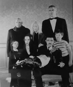 I wanted to be Morticia for Halloween...mom was a bit worried about me, I think!