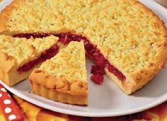 Самые вкусные рецепты: Кучерявый пирог с вареньем