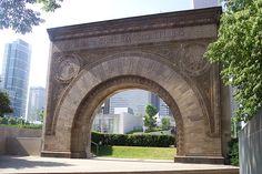 Stock Exchange arch, by Louis Sullivan.