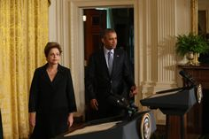 President Obama and President Dilma Rousseff of Brazil pledged to increase the use of wind and solar power, and Brazil said it would restore nearly 30 million acres of Amazon rain forest.