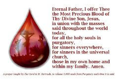 Prayer that releases 1,000 souls from purgatory