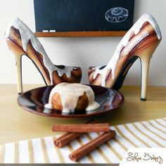These are my all time favourite shoes by Shoe Bakery. If I can manage to save up enough, I will probably commission a pair like this from them with a shorter heel.