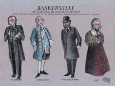 Costume Designs by Tracy Dorman for Ken Ludwig's BASKERVILLE: A SHERLOCK HOLMES MYSTERY | by SyracuseStage