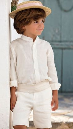Vestidos Arras Cute Kids, Cute Babies, Baby Boy Outfits, Kids Outfits, Page Boy, Chic Baby, Wedding With Kids, Kid Styles, Jane Austen