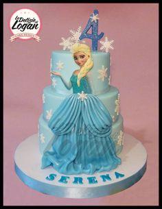 Elsa cake - Frozen